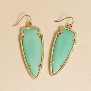 Kendra Scott Skylar Arrowhead Earrings